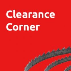 Clearance Corner
